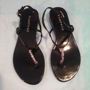 "EUC Rampage ""Natori"" Sandals - Size 7"